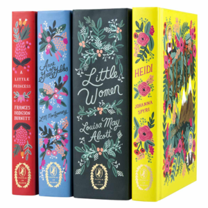 Puffin in Bloom Set of 4