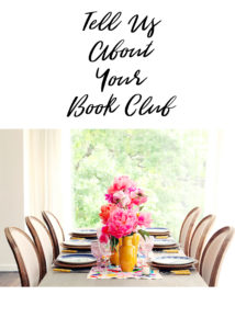 Tell Us About Your Book Club
