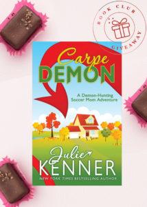 Galentine Valentine Book Club Giveaway #5: CARPE DEMON